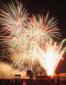 Mount Forest Fireworks Festival, Ontario, summer, travel