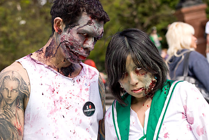zombies, kitchener, ontario, halloween