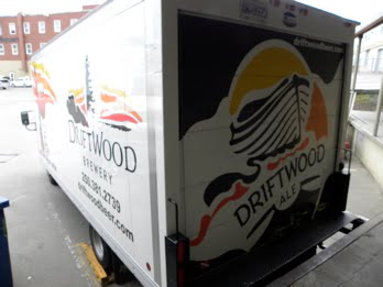 Driftwood Brewery truck Victoria BC
