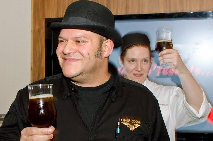 unibroue, brewmaster jerry vietz, beerbistro, michelle usprech, toronto, beer