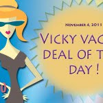 vicky vacay deal of the day 11-4