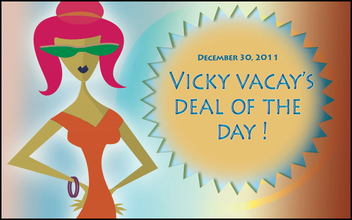 vicky vacay deal of the day 12-30