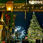 Victorian Industrial Buildings, distillery, Toronto Christmas Market, holiday, ferris wheel