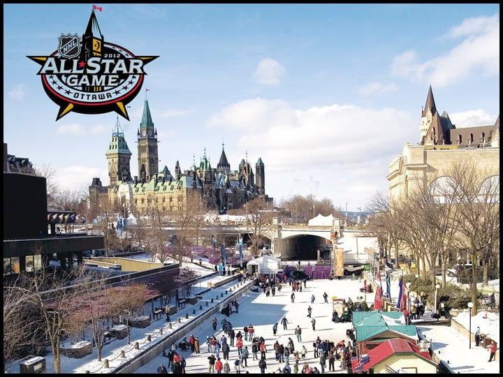 Rideau Canal winter ice skating Ottawa