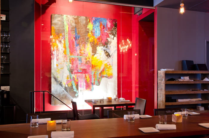 Colborne Lane Restaurant Toronto Valentines Day Dinner