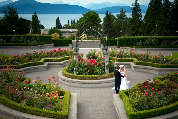 UBC Rose Gardens, Vancouver, BC, scenic