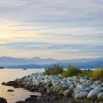 Inukshuk, seawall, vancouver, scenic