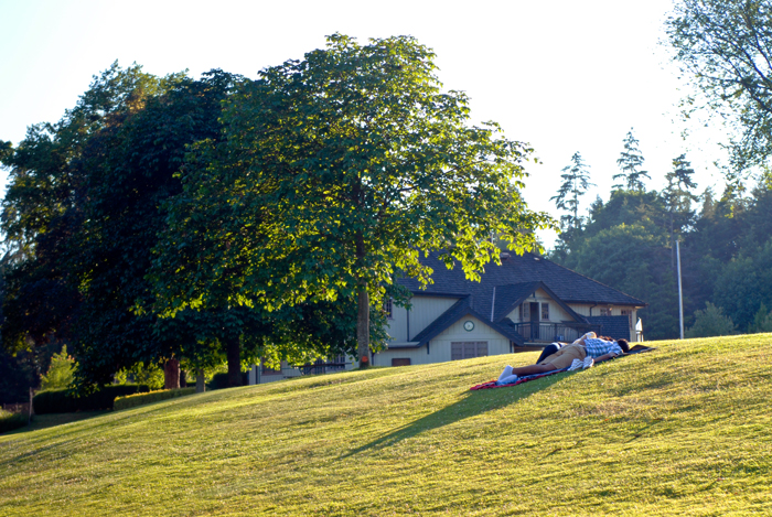 Stanley Park, summer evening, scenic, vancouver