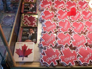 """Obama"" cookies, Le Moulin de Provence, Byward Market, Ottawa"