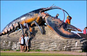 World's largest lobster Shediac NB