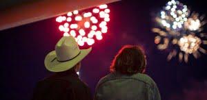 Fireworks-Calgary-Stampede