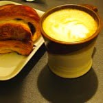 Croissant and Latte-stratford-revel-caffe-chocolate-trail