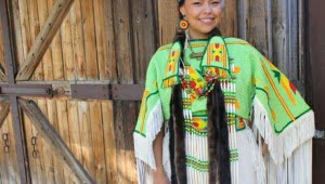 amelia-crowshoe-calgary-stampede-indian-princess