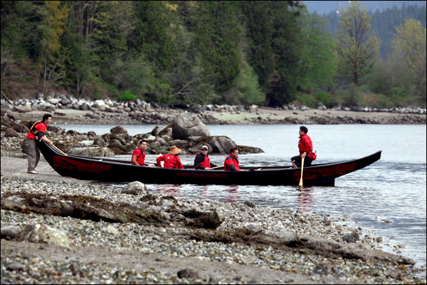 Canoe First Nations BC Travel