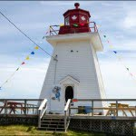 lighthouse Ice Cream Parlour cabot trail