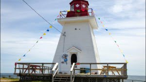 lighthouse Ice Cream Parlour cabot trail