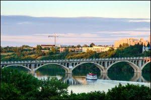 South Saskatchewan River Boat Saskatoon