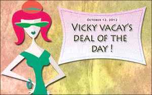 travel deal October 12, 2012