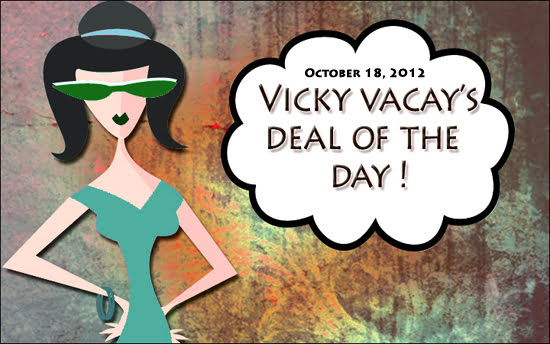travel deal october 18, 2012
