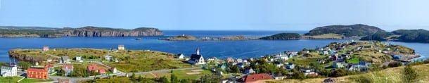 Trinity Newfoundland panorama