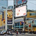 Dundas Square Eaton Centre Toronto