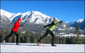 Canmore-Nordic-Centre-skate-skiing-rocky-mountains