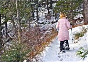Waterton-Lakes-Snowshoeing