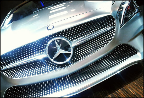 Mercedes Style Coupe