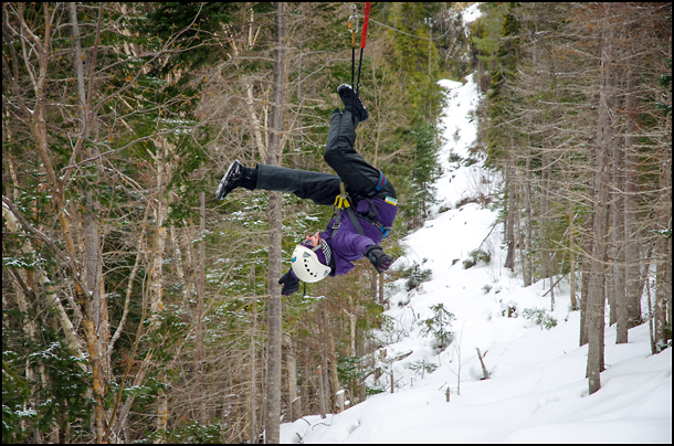 Marble Mountain zip lining