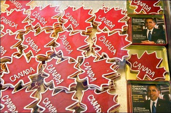 Canada cookies Le Moulin De Provence