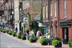 Stratford-People-walking-down-town