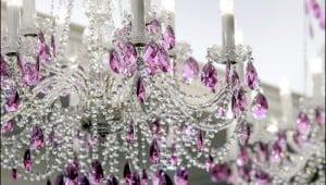 Sparklesand glamour light up the Quartz Crystal Spa at Trump Toronto. (Julia Pelish/Vacay.ca)