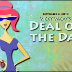 vicky vacay deal of the day