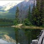 Runoff-fed-Pyramid-Lake-at-Jasper