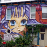 Graffiti-on-corner-in-The-Plateau-Montreal