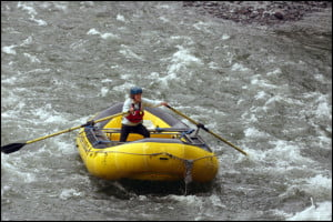 Cheakamus River - White-Water-Rafting Guides