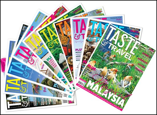 Taste and Travel Magazines