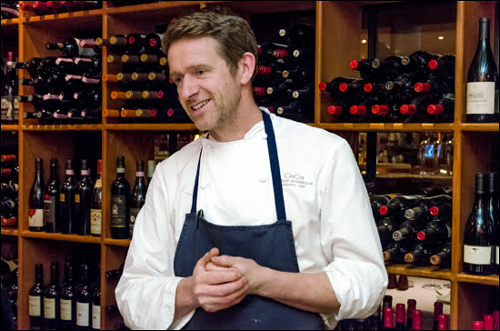Chef Andrew Robertson of CinCin