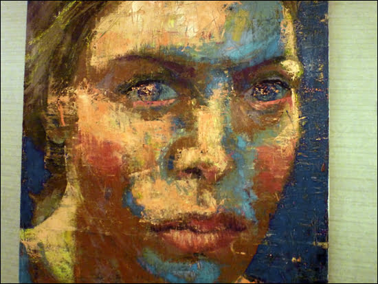 Aproximacion, Oil on canvas by Cuban artist Niels.