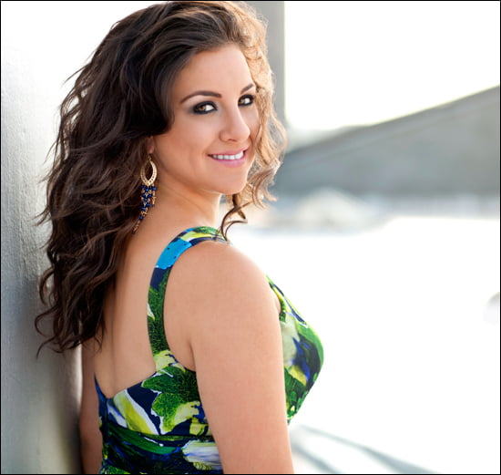 Opera sensation Joyce El-Khoury is Lebanese-born, Canadian-raised, Philadelphia-based soprano. (Dario Acosta photo)