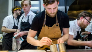 Dale MacKay is one of the chefs and the owner of Ayden Kitchen and Bar in Saskatoon. (Julia Pelish/Vacay.ca)