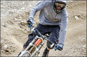 mountain biking whistler