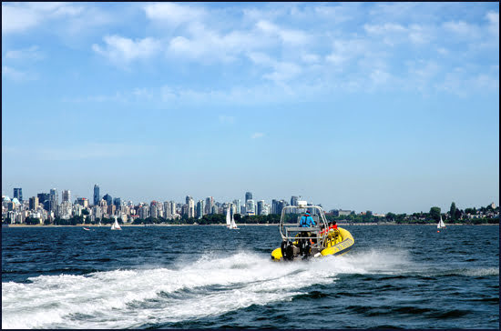 sea vancouver, zodiac boat tours, granville Island, False Creek,