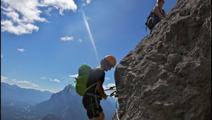 via-ferrata-mount-norquay-banff-alberta
