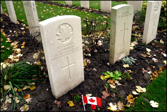Belgium Essex Farm Cemetery (Photo: Ilona Kauremszky/Vacay.ca)