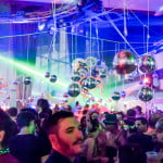 Promise's German Sparkle Party just last month at the Atlantis Pavilion. Their NYE party will feature Chicago house legend Gene Farris. Photo by Colin Green