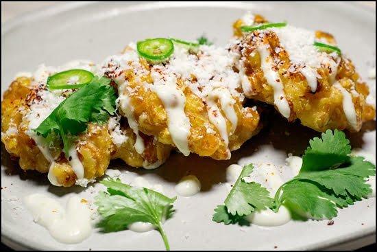 oaxacan-corn-fritters-taco-bar-tacofino-vancouver