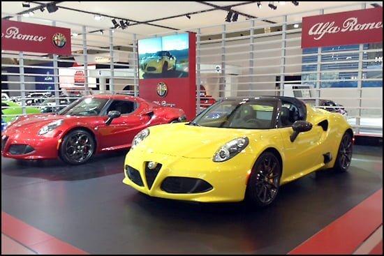 Auto Show Alfa Romeo CIAS 2015 Toronto