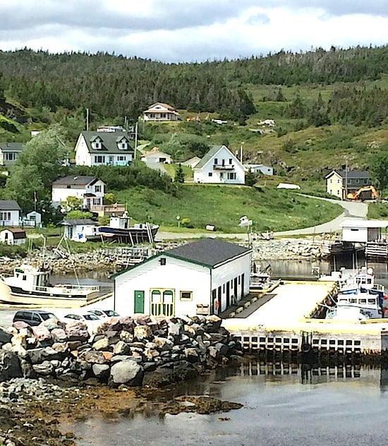 Brigus town view-Newfoundland