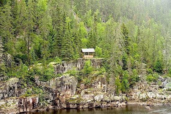 Hike at Parc de la Caverne Trou de la Fée Quebec